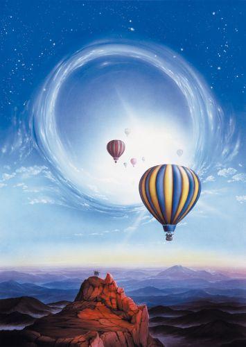 Ballonreise by Carl-W. Röhrig