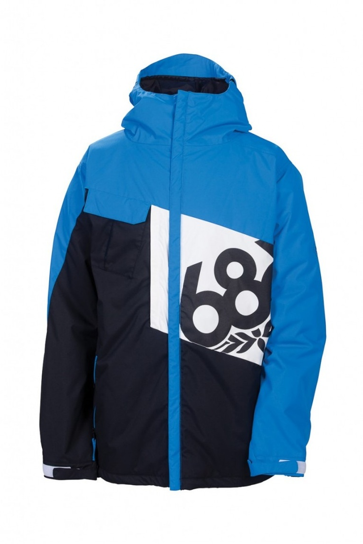 MENS ICONIC JACKET - COLORBLOCK - 686 | Snowboard Outerwear & Clothing