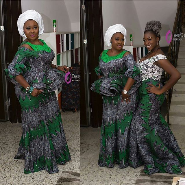 2a2b96a0f1b516 Gorgeous Skirt and Blouse Ankara Aso Ebi Styles for Wedding Guests...Gorgeous  Skirt and Blouse Ankara Aso Ebi Styles for Wedding Guests