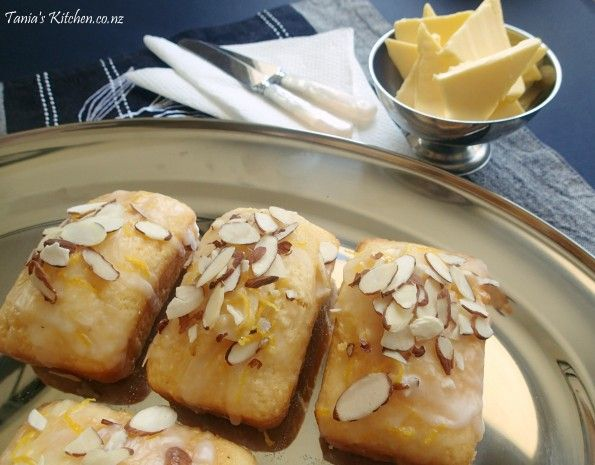 Baby Lemon & Coconut Syrup Loaves