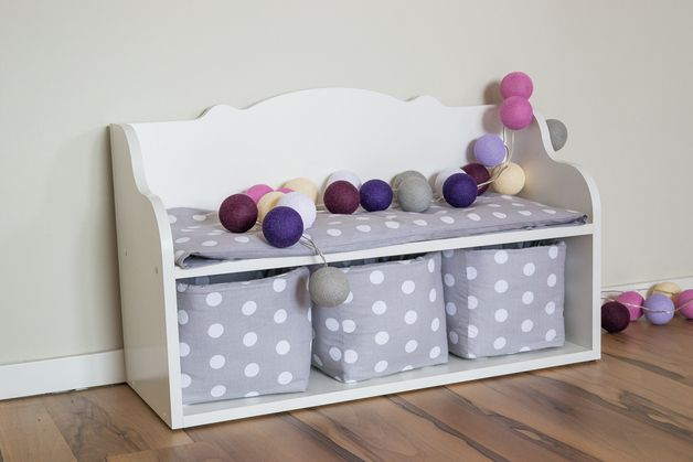 Bänke - Kindersitzbank, Sitzbank, Schuhregal, - ein Designerstück von kraftkids bei DaWanda