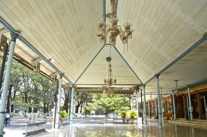Surakarta Hadiningrat Palace. Solo. Indonesia.