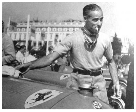 Nuvolari con Alfa Romeo Scuderia Ferrari