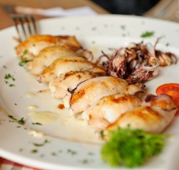 Unos calamares de #Carbochef ¡Para chuparse los dedos!
