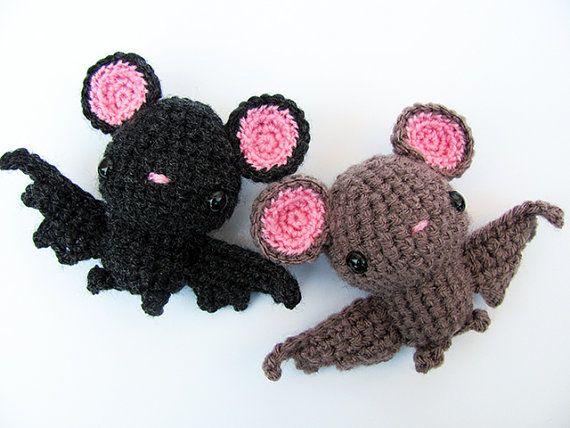 Crochet PATTERN - Amigurumi Bat