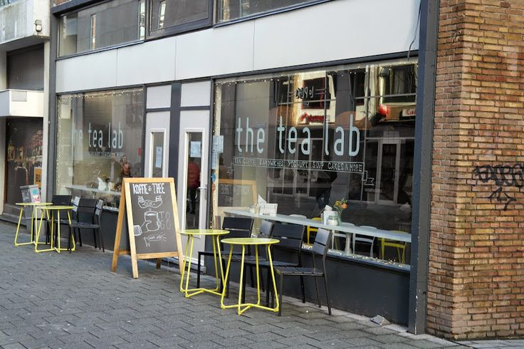 The Tea Lab, the very best place for tea and lunch in Rotterdam.