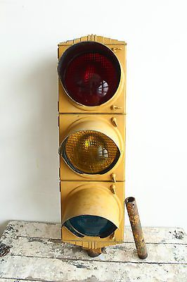 Functional Crouse Hinds Vintage Dt Traffic Light Signal
