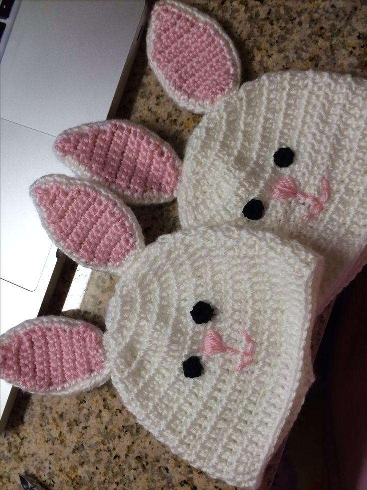 25+ best ideas about Bunny hat on Pinterest Hat flower ...