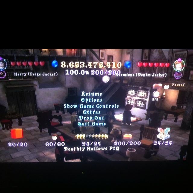 100% Lego Harry Potter Years 5-7!!