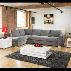 Extra Large L Shape Sofa Set Settee Corner Group 335x210cm Grey L Stk Part 82