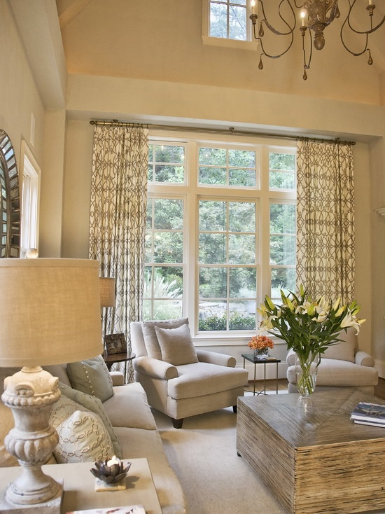 Contemporary Family Room Window Treatments Design, Pictures, Remodel, Decor and Ideas - page 2