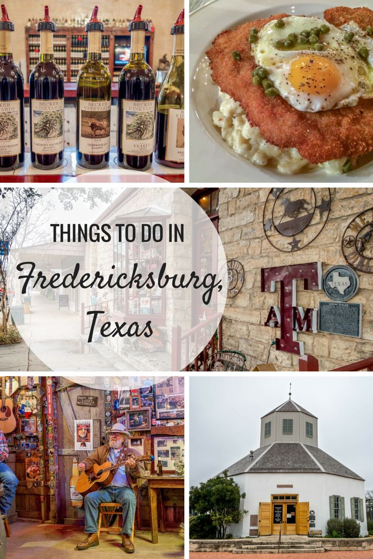There are so many things to do in Fredericksburg, Texas. From wine tasting to…