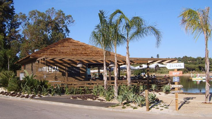 The Shack Lake Bar (initially called The Local) - Quinta do Lago, Algarve - by Essencia Architects