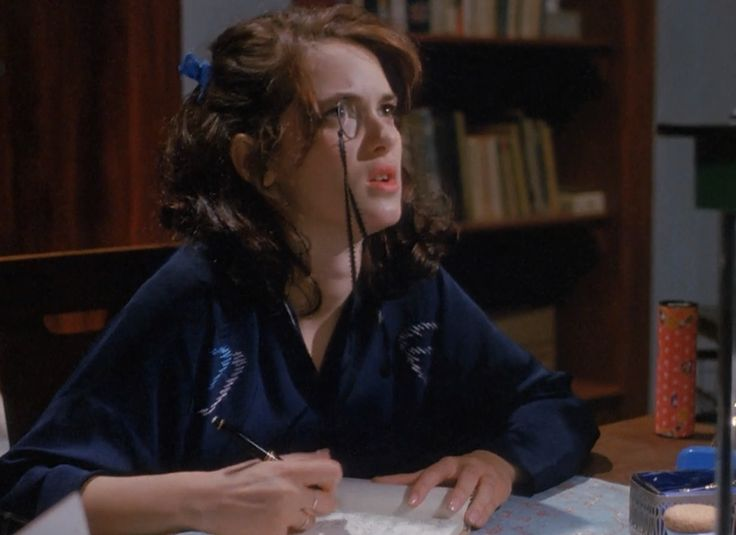 Veronica Sawyer's journaling look from Heathers