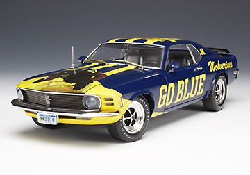 Michigan themed 1970 Ford Mustang