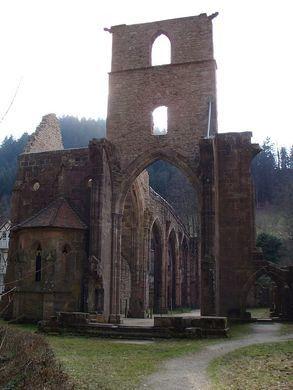Kloster Allerheiligen – Oppenau, Germany   Atlas Obscura