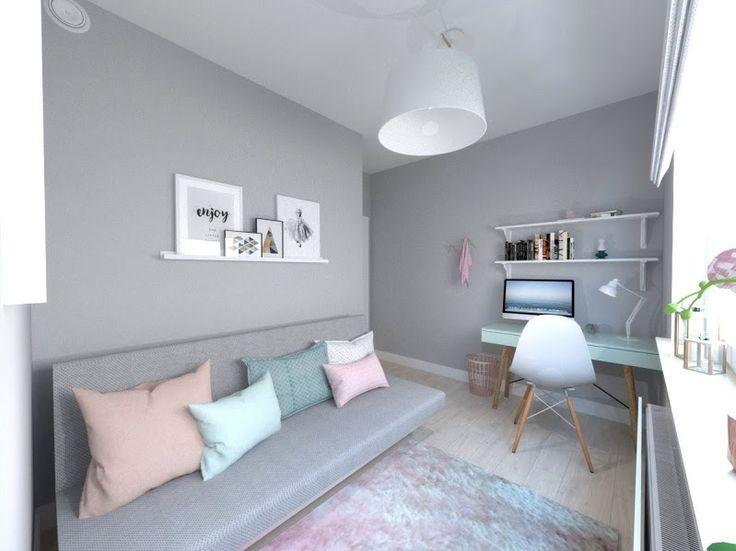 house in pastel colors, interior design, pastele. www.atoato.pl