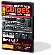 Roland Boss GT-8 (2-DVD Set)