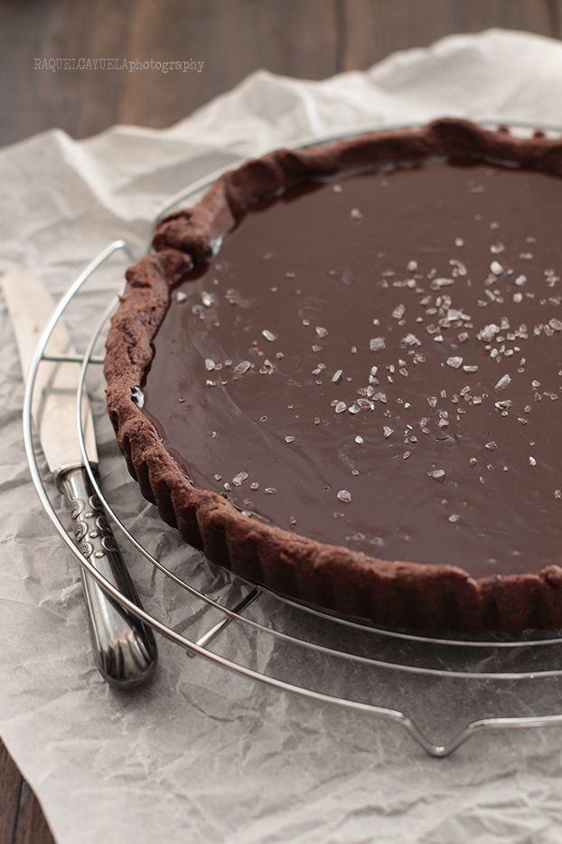 Raquel's Kitchen: Tarta de Chocolate y Caramelo Salado