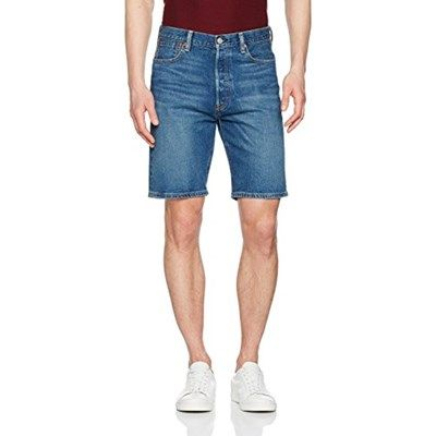 Chollo en Amazon España: Pantalones cortos Levi's 501 Hemmed por solo 30,80€ (un 44% de descuento sobre el precio de venta recomendado y precio mínimo histórico)