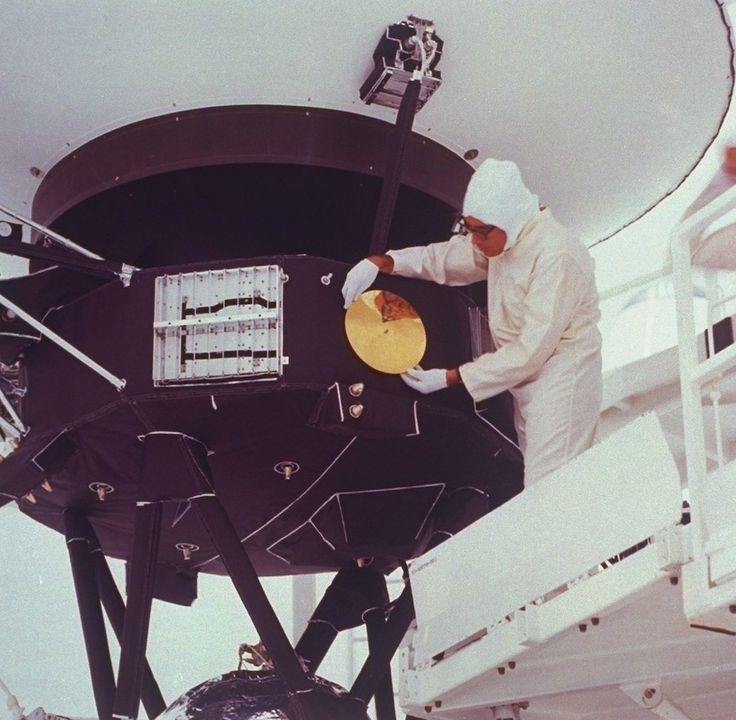 A Look At Voyager In The '70s Before Its Launch