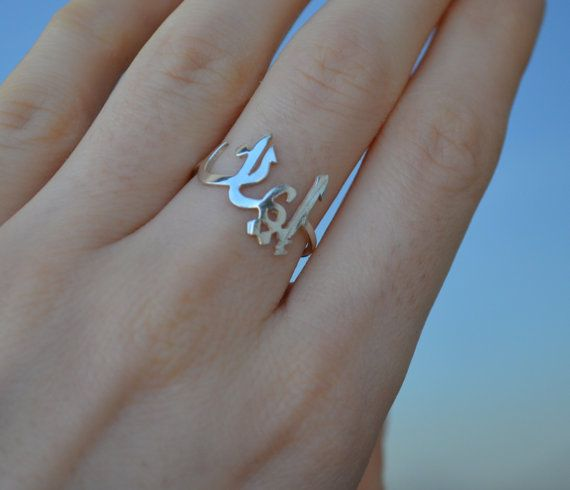 Sterling Silver Arabic Name Ring Arabic Ring by MinimalistDesigns, $34.50