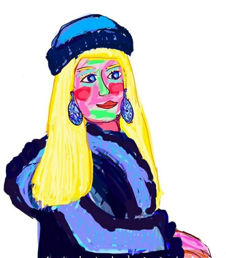Ilustración retrato. www.ignasimiralbellriera.com
