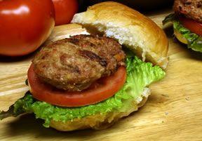 Weight Watchers Recipe: Turkey Burgers | WW Points Recipes: Weight Watcher Recipes