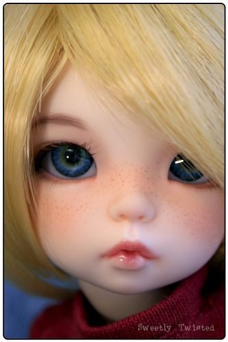 Littlefee Ante with custom freckled faceup. Love the blue eyes.