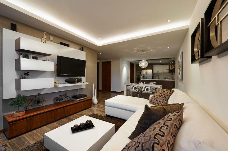 идеи квартира дом мебель декор гостиная освещение фото