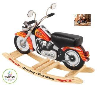 Harley Davidson (R) Schaukelmotorrad mit Sound