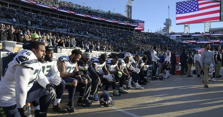 Donald Trump again takes aim at NFL, tweets about protesting players https://usat.ly/2CSWKj4