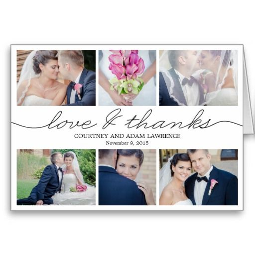 Lovely Writing Wedding Thank You Card - White Note Cards. Designed by Berry Berry Sweet. $2.75