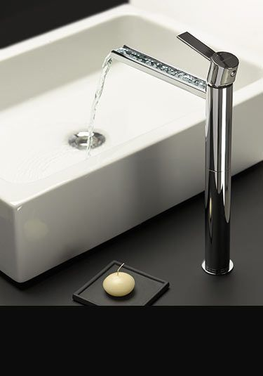 Loft Tall Waterfall Basin Tap