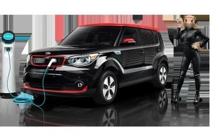 Kia Soul 2015 black leather whole shebang EC mirror