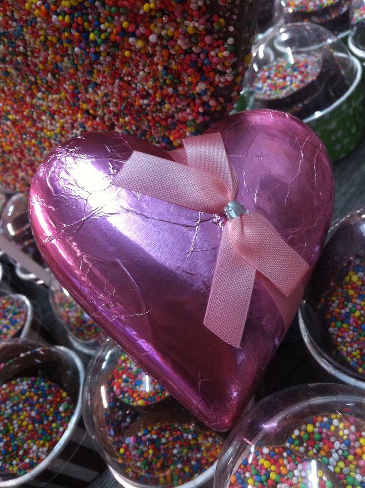 Heart Chocolates... Yum! #mansfieldmtbuller #chocolates #mothersday