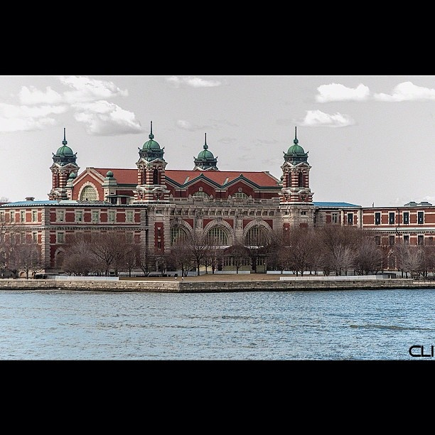 Ellis Island. The first step in America for my Hungarian grandparents.