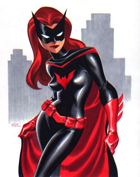 Bat-Woman by Bruce Timm