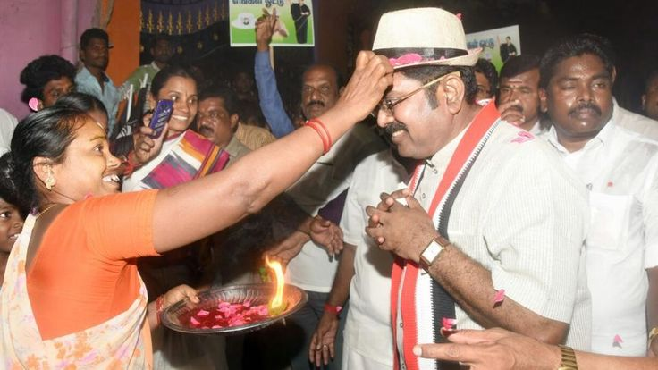 The Crime Branch of Delhi Police today booked jailed AIADMK leader Sasikala's nephew and her deputy TTV Dinakaran in connection with a case of attempting to bribe the Election Commission of India (EC) for the