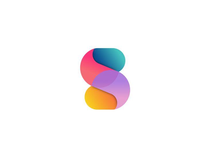 A series of circles mobile app, logo design symbol by Josh Bolinger