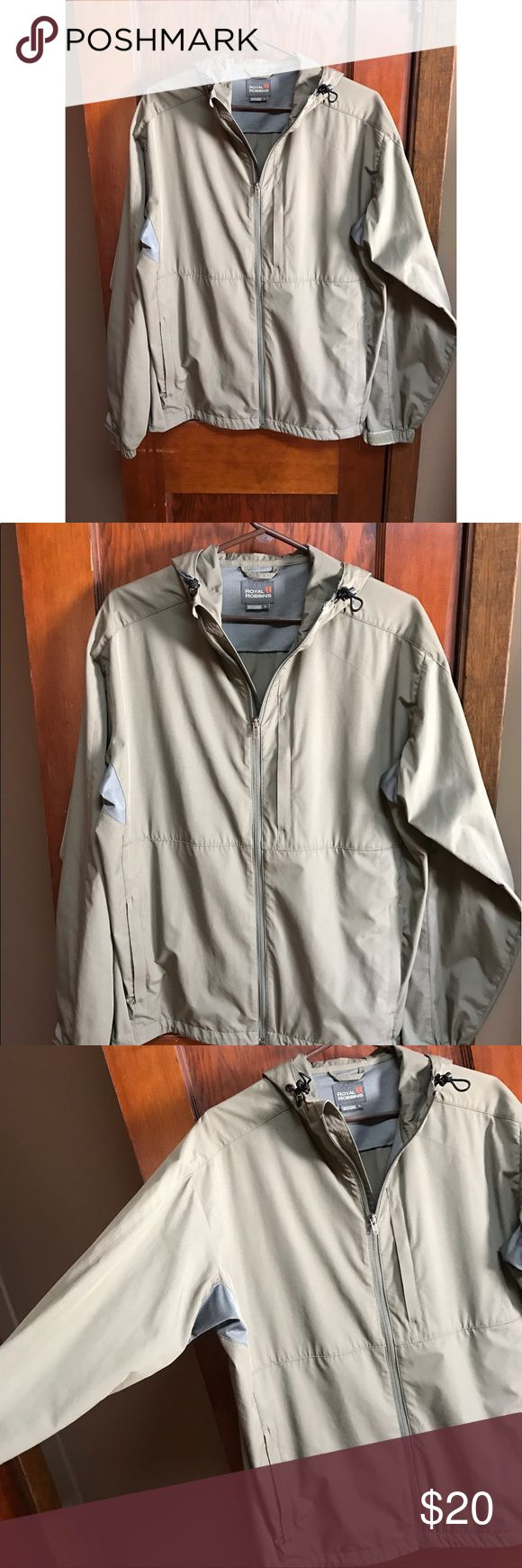 •Women's Windbreaker//Spring jacket• Size large, never worn. Perfect for spring! 💙 Royal Robbins Jackets & Coats