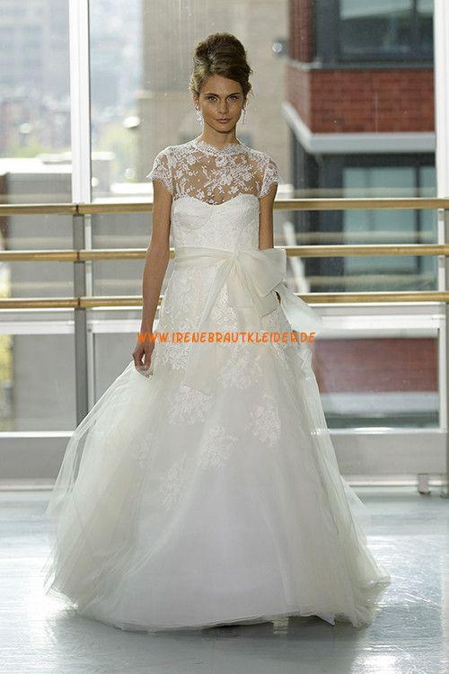 Dramatishce Glamouröse Hochzeitskleider aus Softnetz