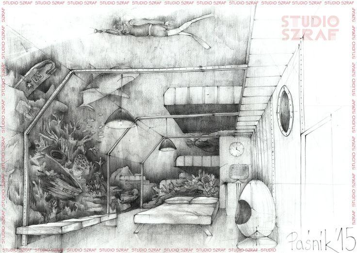 Studio Szraf kurs rysunku Łódź. autor: Jacek Paśnik