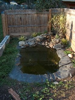 17 best images about build your own pond on pinterest for Build your own waterfall pond