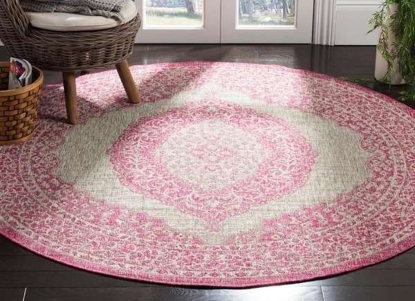 10 Rugs Under 100 That Work Indoors And Out Round Outdoor Rug Rugs Outdoor Rugs