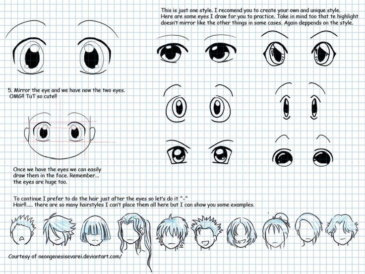 how to draw chibi part2b by idnis.deviantart.com on @deviantART