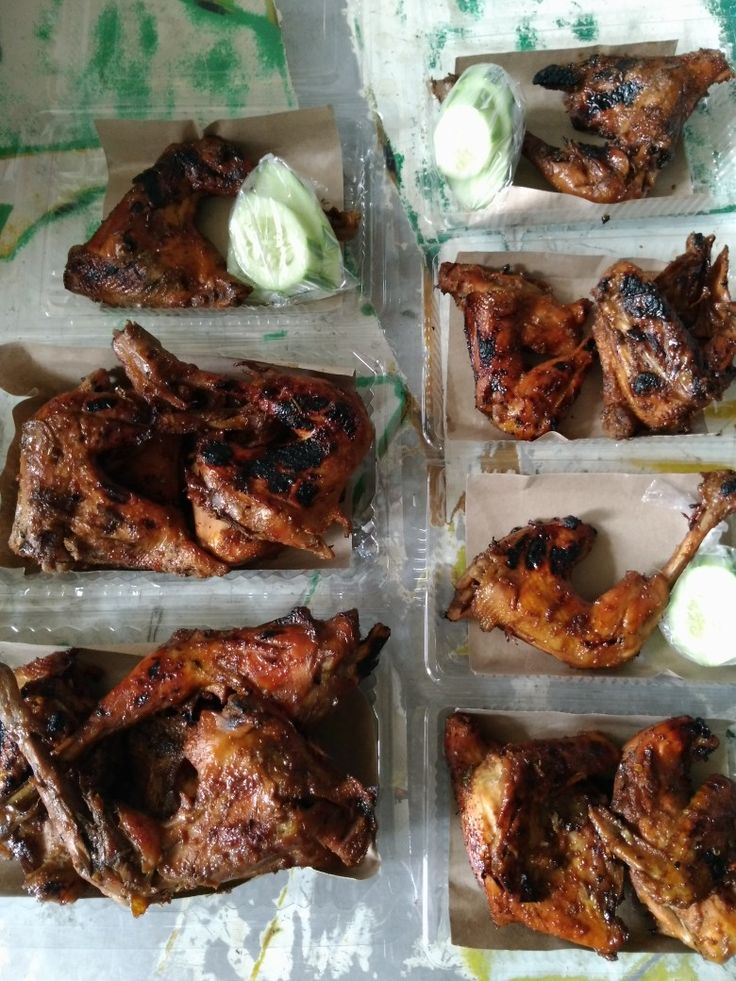 Ayam bakar pedas manis