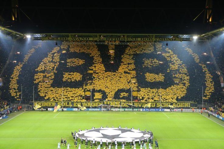 Manchester City, Westfalenstadion Dortmund, Champions League, Saison 201213, BVB, Borussia Dortmund - BVB - Manchester City FC