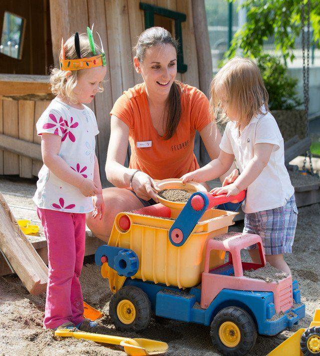 Kinderbetreuung ab 3 Jahren