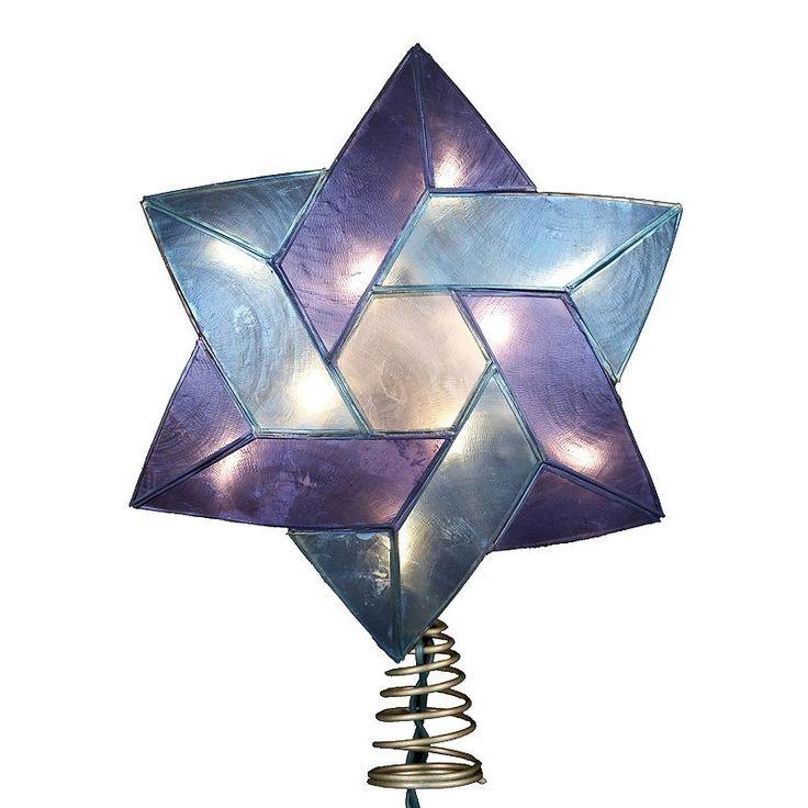 Christmas Lights Shark Tank: 1000+ Ideas About Hanukkah Tree Topper On Pinterest